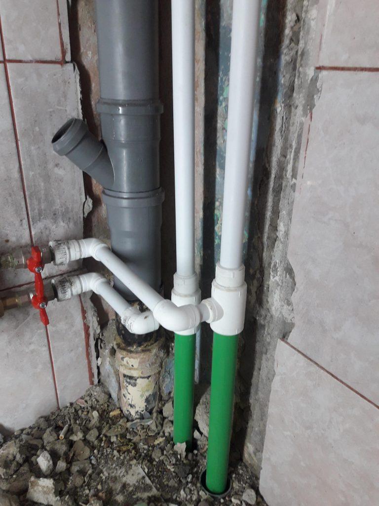 reparatii urgente coloane PVC