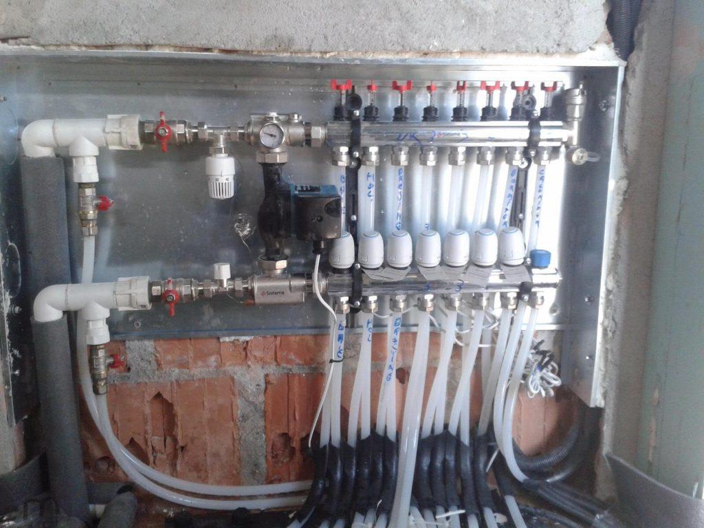 instalator tevi subtiri pentru apa calda