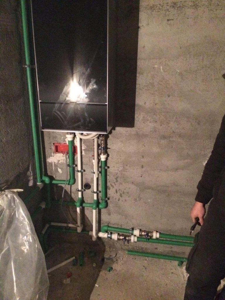 montaj centrala cu instalator certificat